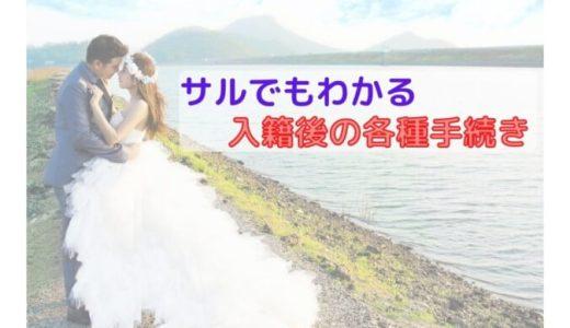 遠距離夫婦の入籍 ~日本での住所・氏名変更手続き~