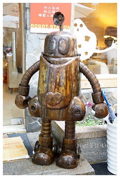 台中綠園道機器人主題餐廳鐵皮駛91