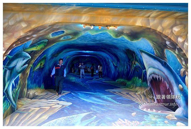 宜蘭蘇澳景點祝大魚3D彩繪360度海底隧道07133