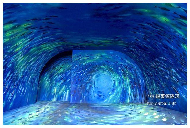 宜蘭蘇澳景點祝大魚3D彩繪360度海底隧道07143