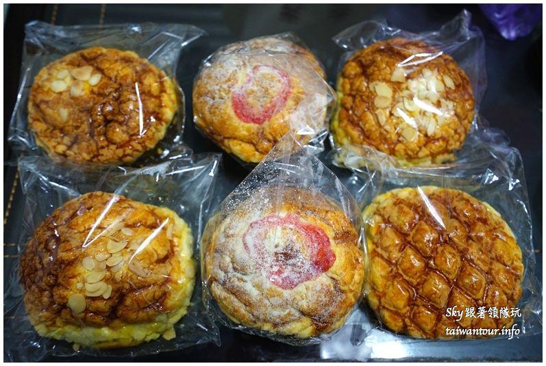 淡水美食推薦廣泰香菠蘿麵包DSC04758