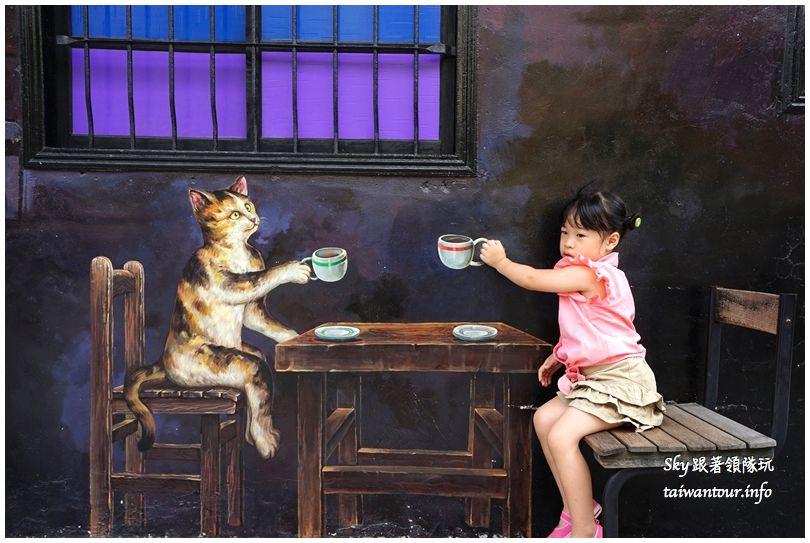 雲林景點推薦屋頂上的貓貓咪小學堂DSC07550
