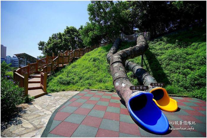 新北景點推薦親子景點錦和運動公園沙池溜滑梯DSC02383