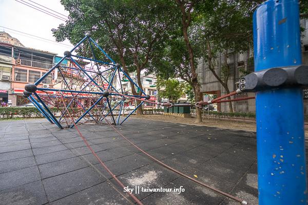 桃園親子景點-超多攀爬網溜滑梯【同安親子公園】