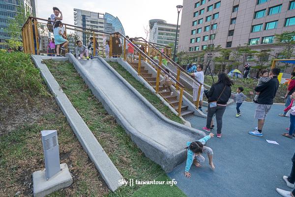 台北親子景點-內湖共融式遊具【大港墘公園】