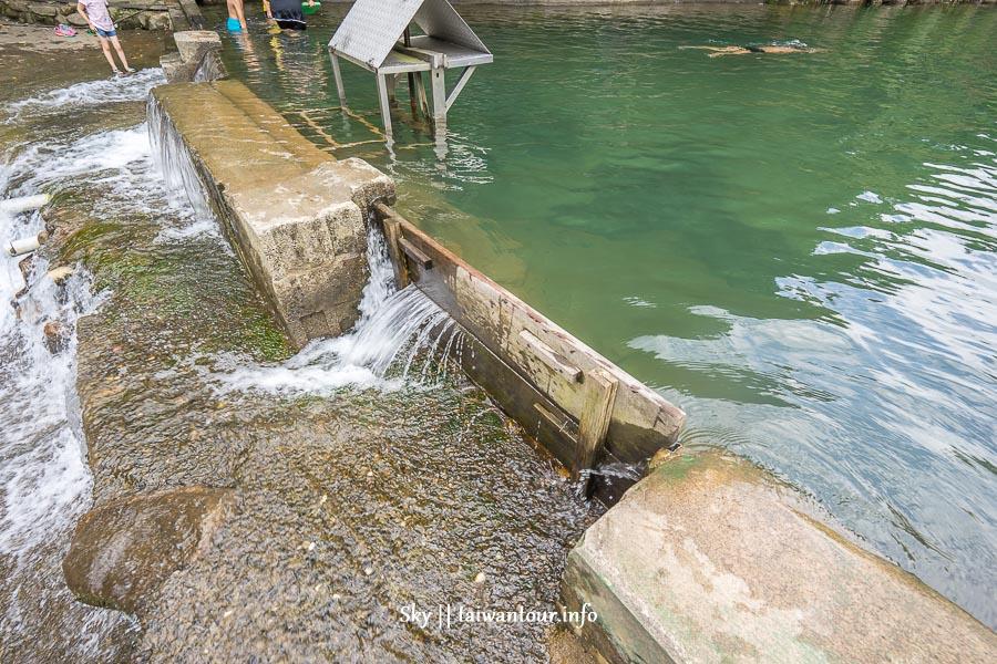 新北市親子景點【柯子林天然游泳池】汐止玩水游泳秘境