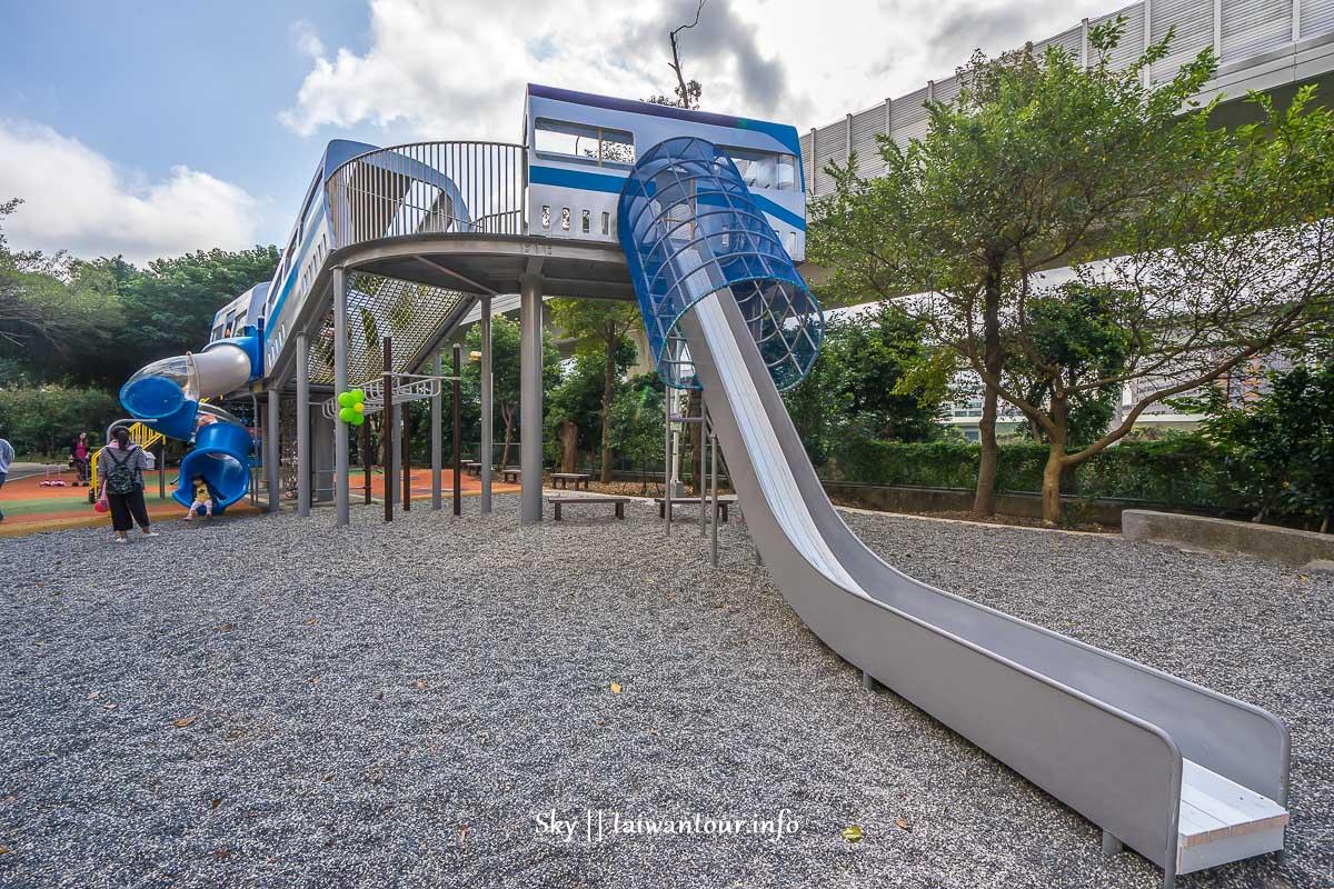 2018林口【樂活公園特色共融遊戲場】超斜溜滑梯.交通地址盪鞦韆親子景點