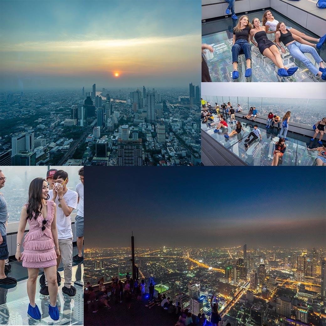 2019曼谷新景點【Mahanakhon SkyWalk】king power全泰國最高360觀景台.門票價格.交通