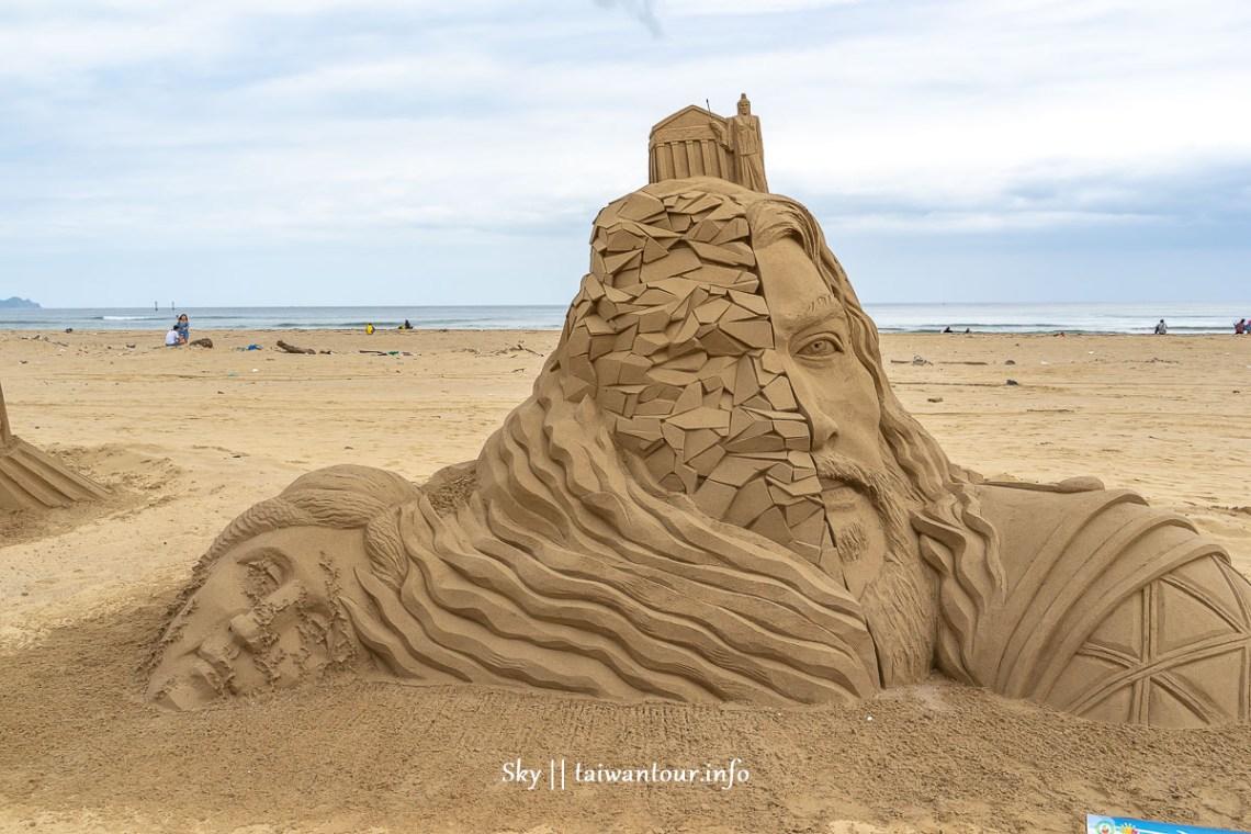 2019福隆國際沙雕藝術季海神波賽頓