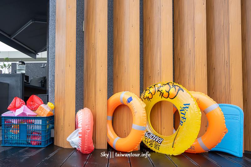 宜蘭礁溪【晶泉丰旅】溫泉住宿親子推薦.無邊際泳池