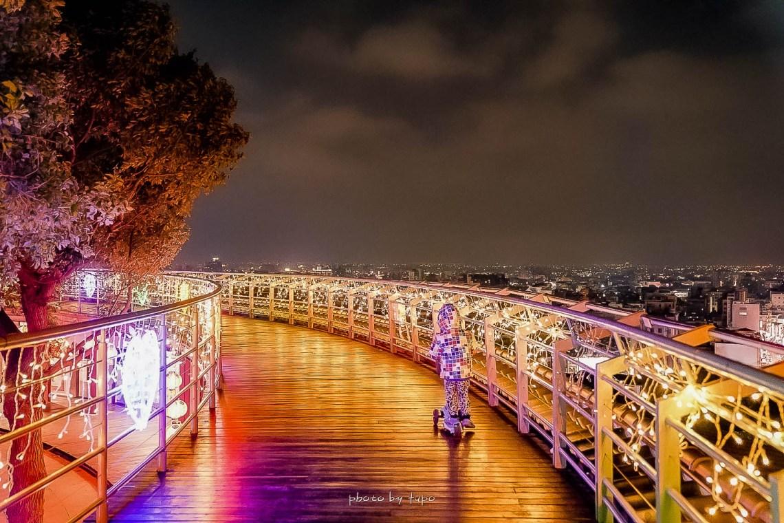 【2020彰化月影燈季】八卦山景點推薦.50萬顆LED燈泡點亮天空步道.交通.怎麼去
