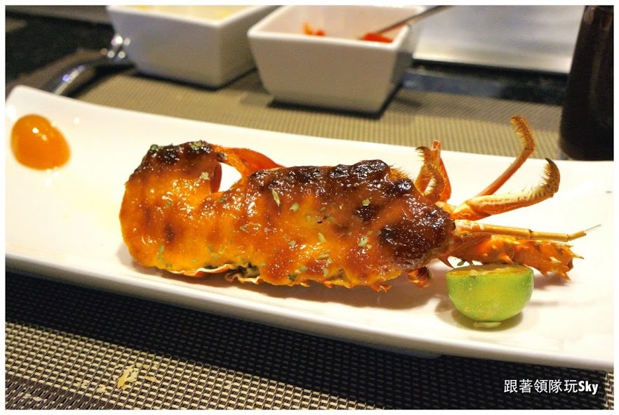 宜蘭美食推薦-礁溪新鮮的鐵板燒【東方紅鐵板創意料理】