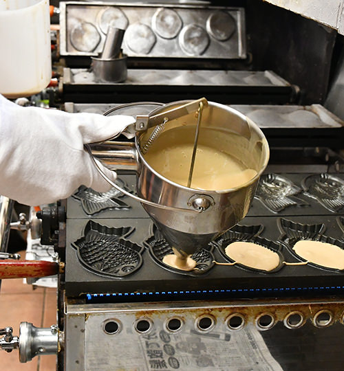 100%手焼き調理