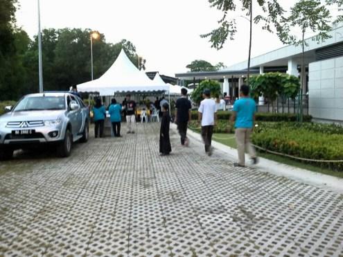Khemat khas untuk majlis berbuka puasa sepanjang Ramadhan.