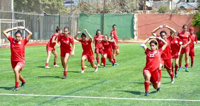 تدريبات المنتخب اللبناني