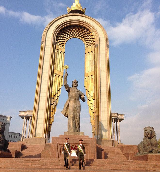 Душанбе — столица Таджикистана.
