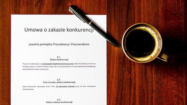 6 rzeczy, które musisz wiedzieć o umowie o zakazie konkurencji po ustaniu stosunku pracy, zanim ją podpiszesz