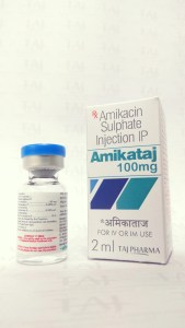 Taj Pharmaceuticals as Manufacturer of Amikacin Sulphate Injection USP 100mg/2mlAmikacin-Injection-Amikataj-100mg Taj Pharmaceuticals, one of the leading Amikacin Sulphate Injection USP 500mg/2ml manufacturers in India brings the best-quality products. Taj Pharmaceuticals company carries the rich experience in the niche manufacturing of Amikacin Sulphate Injection USP. Taj Pharmaceuticals is reputed manufacturer and Amikacin Sulphate Injection USP 500mg/2ml suppliers in India prefer Taj Pharmaceuticals due to the reliability and purity of products. Taj Pharmaceuticals, the well-known Amikacin API manufacturer in India gives the assurance of high-quality and purity. The stringent quality-control ensures that every batch of the drug brings a consistent standard. As Amikacin Sulphate Injection USP 500mg/2ml exporters, we can cater business queries from the following geographies.