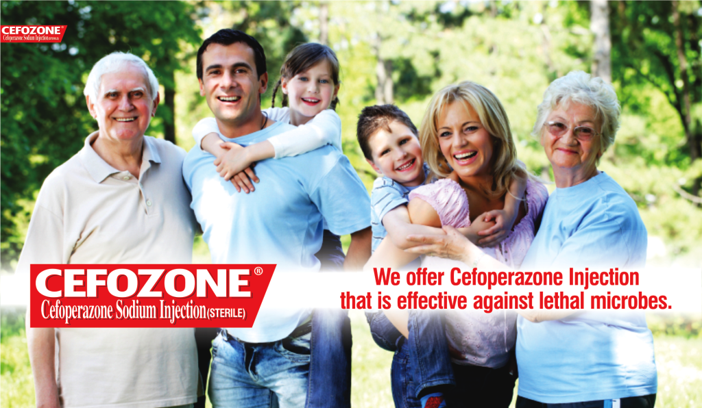 Cefoperazone is a third-generation cephalosporin antibiotic used in the treatment of infections of skin and skin structures, respiratory tract, urinary tract, gynecological infections including gonorrhea