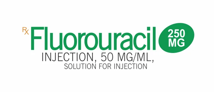 Fluorouracil injection to slow or stop cancer cell growth