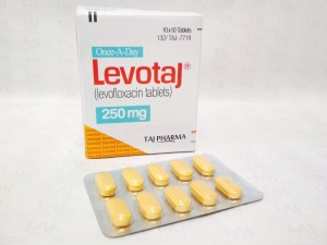Taj Pharmaceuticals, one of the leading Levofloxacin Tablets USP (Levotaj) 250mg manufacturers in India brings the best-quality products. Taj Pharmaceuticals company carries the rich experience in the niche manufacturing of Levofloxacin Tablets USP (Levotaj) 250mg. Taj Pharmaceuticals is reputed manufacturer and Levofloxacin Tablets USP (Levotaj) 250mg suppliers in India prefer Taj Pharmaceuticals due to the reliability and purity of products. Levofloxacin Tablets (Levotaj) 250mg Taj Pharma