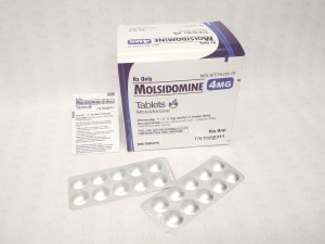 Molsidomine 4mg Tablets Taj Pharmaceuticals Molsidomine Tablets 4mg Taj Pharmaceuticals Mumbai India Side effects, uses, Ischeamic Heart Disease, Angina. Molsidomine Tablets 4mg. Taj Pharmaceuticals is reputed manufacturer and Molsidomine Tablets 4mg suppliers in India prefer Taj Pharmaceuticals due to the reliability and purity of products. Taj Pharmaceuticals, the well-known Molsidomine Tablets 4mg API manufacturer in India gives the assurance of high-quality and purity.