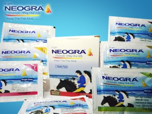 Neogra Oral Jelly (Sildenafil Citrate) 7 flavor sachets treating Erectile Dysfunction