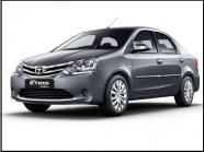 Toyota Etios Taxi in Agra