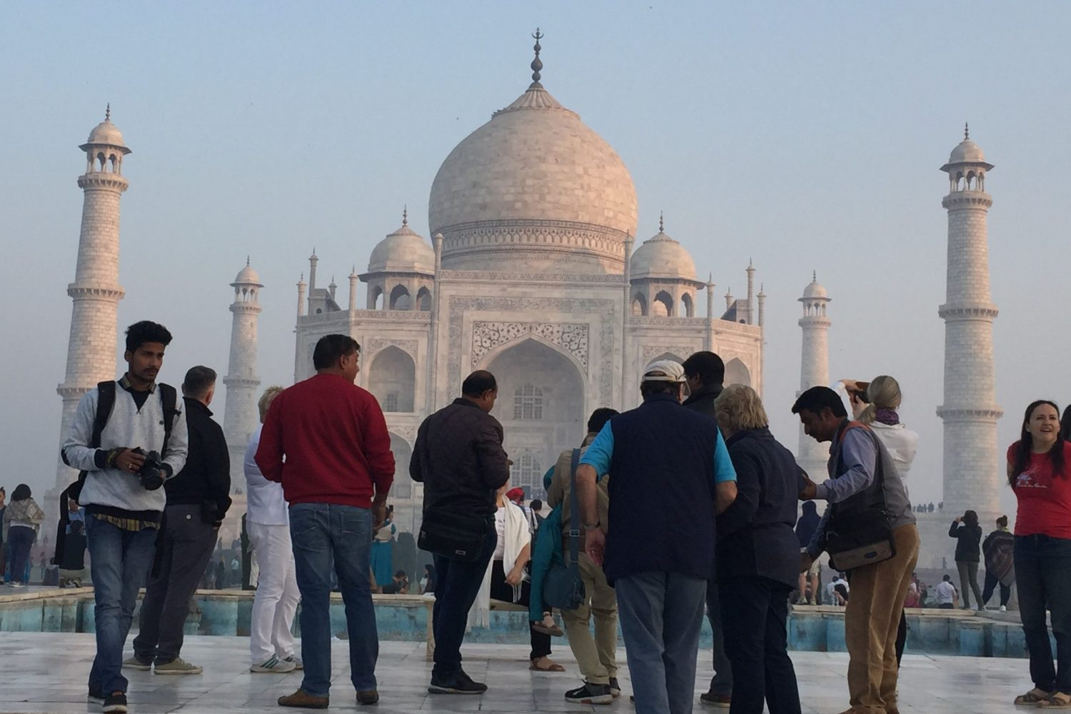 Taj Mahal Day Tour at Diana Seat