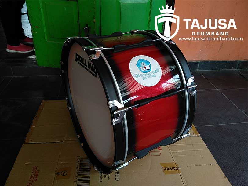 1 set alat drumband sd