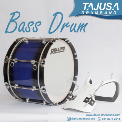 bass marchingband 22 inch