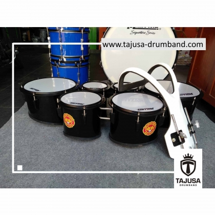six tom drumband