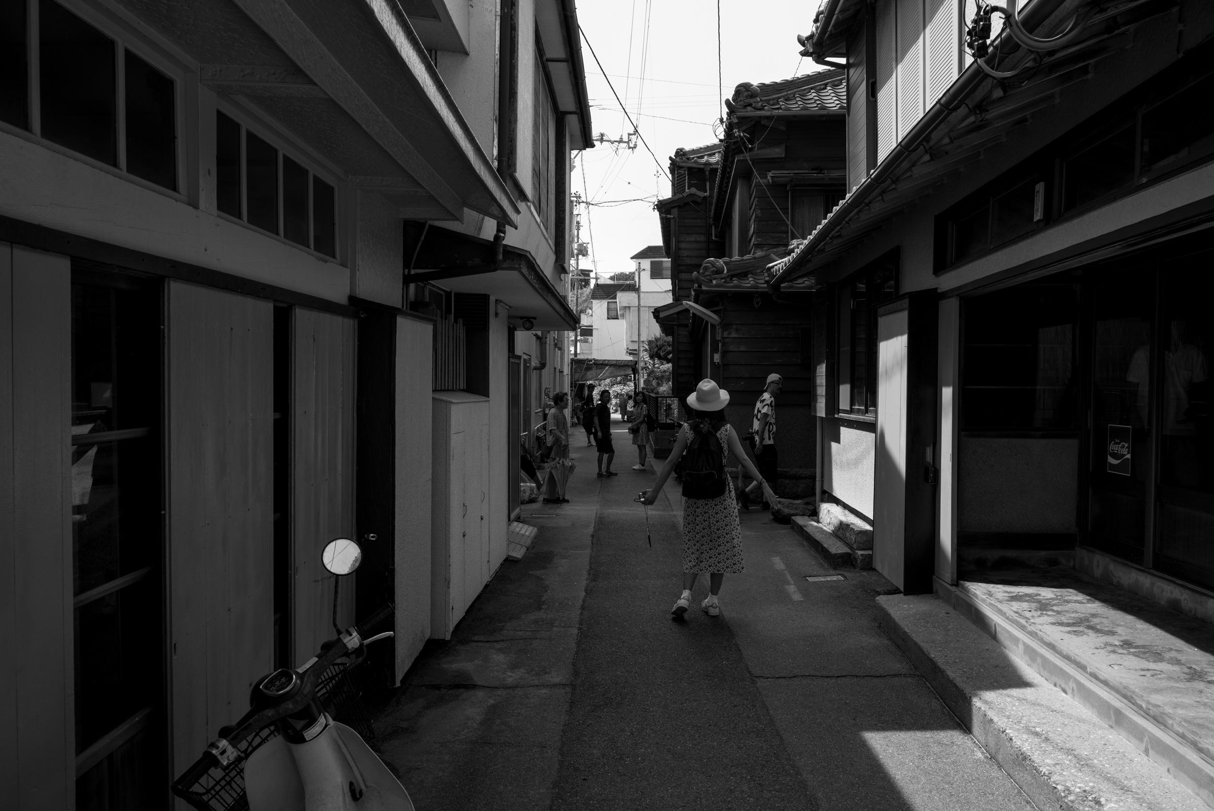 篠島 裏路地