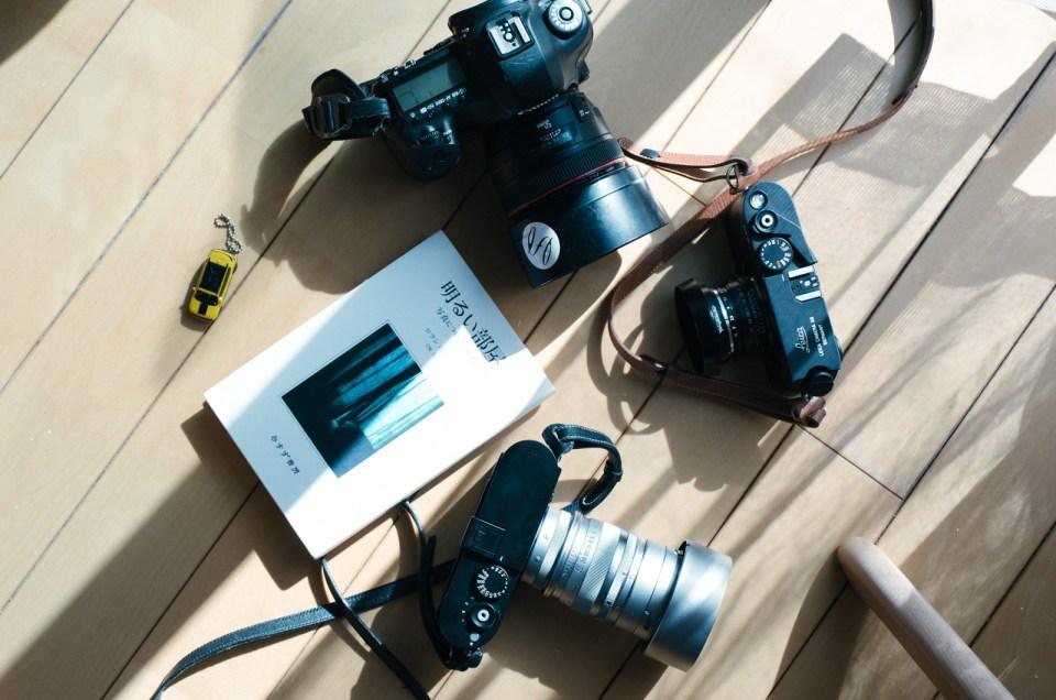 たどり着いたカメラ機材たち