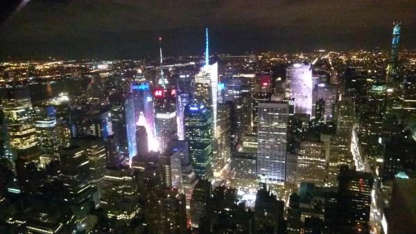 エンパイア・ステート・ビルからの夜景