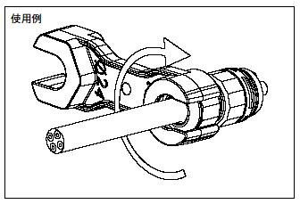 THB384/406用 締付工具 6000337BC [タカチ電機]