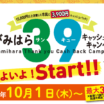 39キャンペーンとは?3900円キャッシュバックされる相模原の一大キャンペーンでお得に買い物しよう!