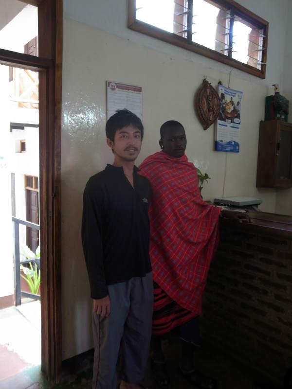 [キリマンジャロ登山]3.モシの安宿とツアー会社キリクライマーズ (5)