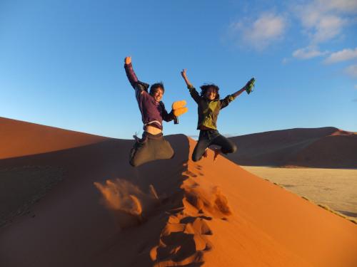 ナミビアナミブ砂漠1 (2)
