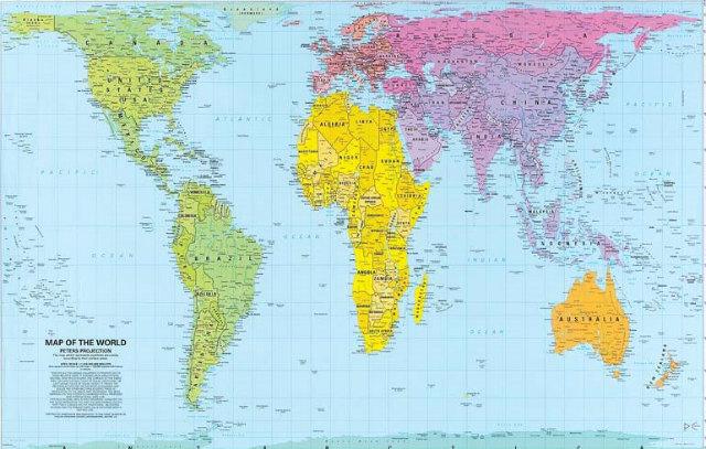 ピータースの世界地図 (2)