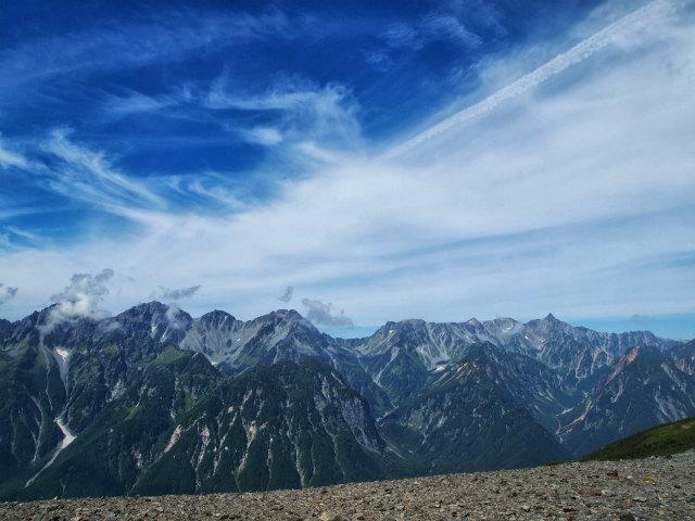 蝶ヶ岳日帰り登山記録 (21.5)