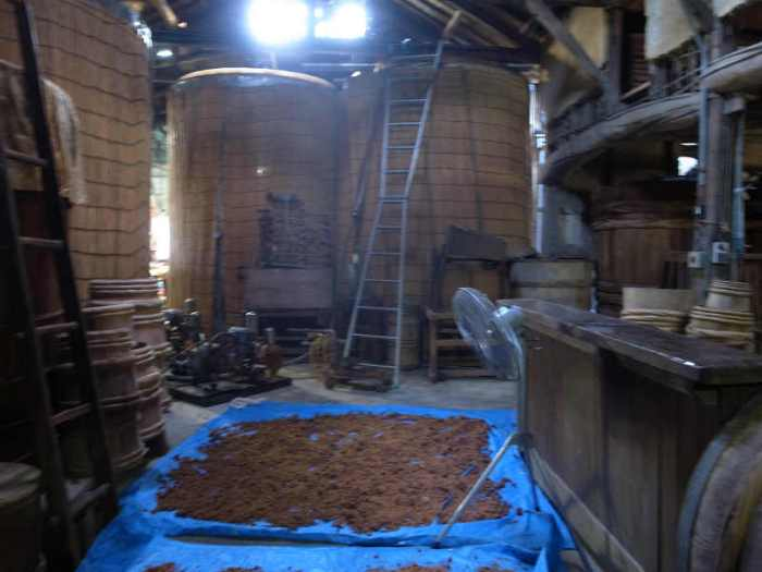 愛知県武豊町のたまり・味噌・醤油作りを見学してきた:伊藤商店の傳右衛門(でんえもん) (9)