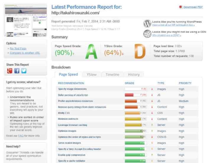 WordPress専用のレンタルサーバーwpXとミニバードの速度を比較し、引っ越しするか悩む (5)