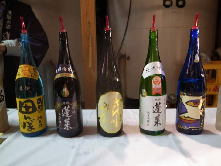 渡辺酒造店が企画する飛騨古川「蔵まつり」が素晴らしすぎる!飲み比べをした名酒「蓬莱」のおすすめラベル (13)