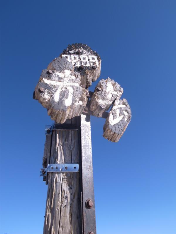 厳冬期2月の冬山に初挑戦!八ヶ岳の頂点、赤岳を雪山登山(赤岳鉱泉テント泊ルート、コースタイム有) (32)