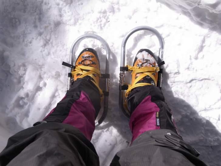 厳冬期2月の冬山に初挑戦!八ヶ岳の頂点、赤岳を雪山登山(赤岳鉱泉テント泊ルート、コースタイム有) (35)