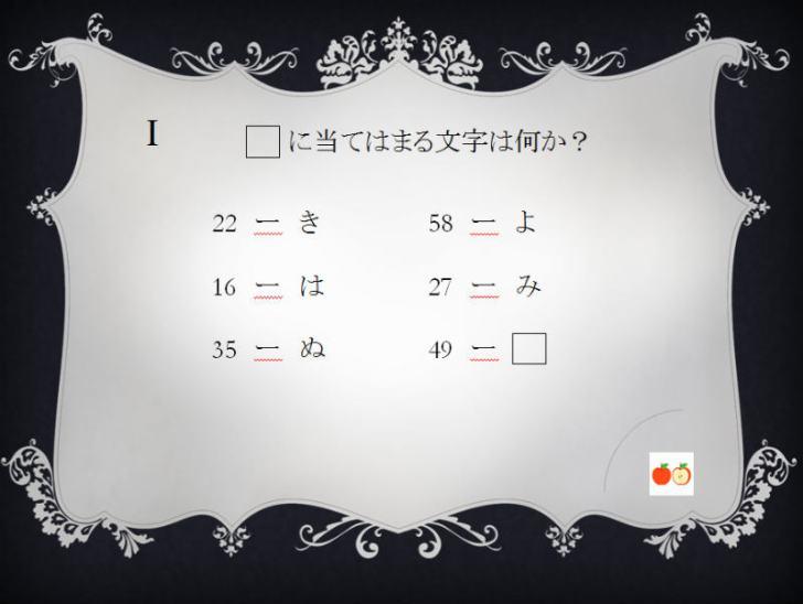 リアル脱出ゲームの問題を作成したよ。謎解き挑戦者求む!! (7)