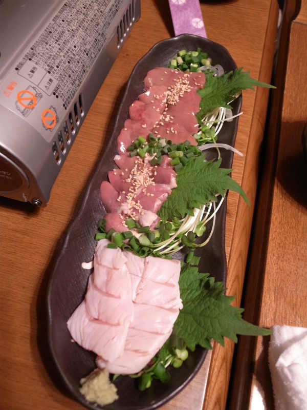 名古屋御器所で鳥の刺身が食べられる炭火焼鶏居酒屋「がん汰」がおすすめ! (2)