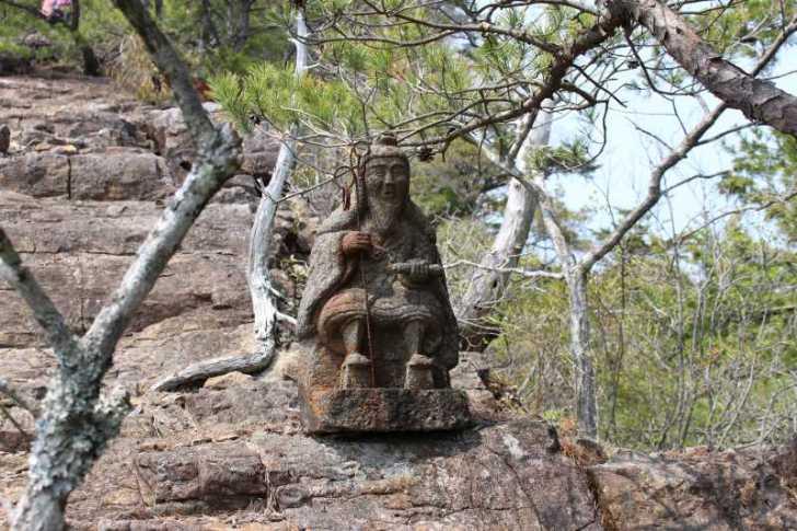 奥三河名山八選:愛知県新城市の竜頭山(りゅうずさん)に登ってきた! (30)