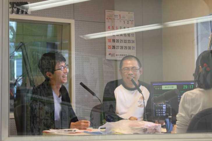 初ラジオ生出演!エフエム豊橋「スヤンコイトル」でモエモエと藤本忍さんと話してきました!! (2)